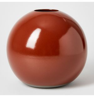 Vase rouille Boule - Extra large