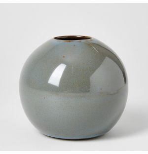 Vase gris Boule - Medium
