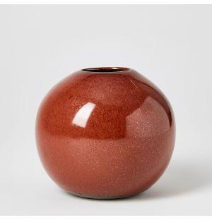 Vase rouille Boule - Mini