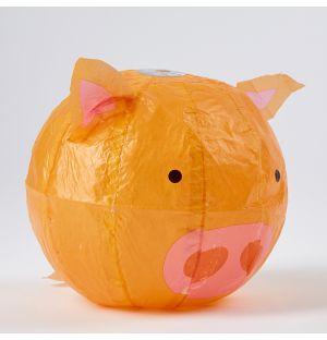 Ballon en papier japonais Cochon