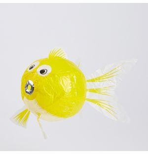 Ballon en papier japonais Poisson jaune