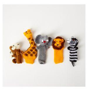 Marionnettes de doigts Safari To Go