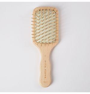 Mini brosse en bois de hêtre antistatique