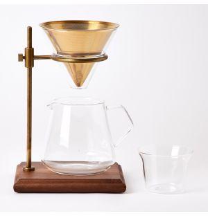 Set infuseur de café sur pied
