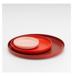 Set de 3 plateaux Trays rouge - Vitra