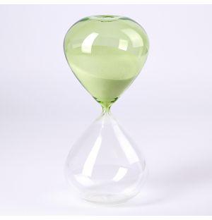 Sablier 90 Minutes vert & transparent