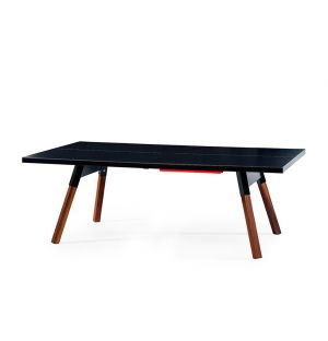 Table de ping-pong You & Me noire – 220 cm