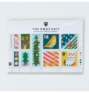 Collection de timbres Noël - Set 1