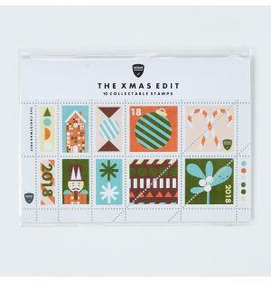 Collection de timbres Noël - Set 2