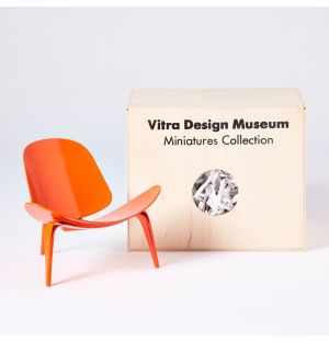 Miniature Chaise Shell 3 pieds