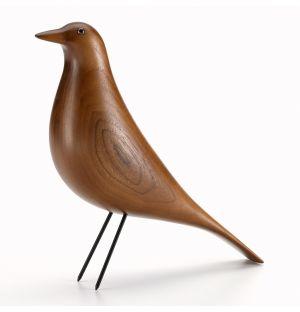 Eames House Bird en bois d'aulne marron