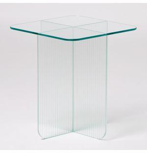 Table d'appoint Blur en verre