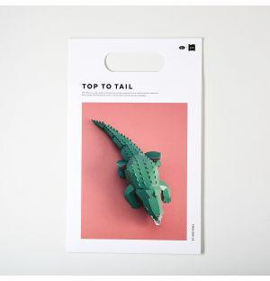 Crododile à assembler Top To Tail