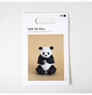 Panda à assembler Top To Tail