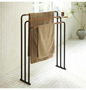 Porte-serviettes noir