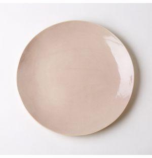 Assiette de table rose bruyère – 29 cm
