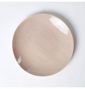 Assiette à dessert rose bruyère – 20 cm