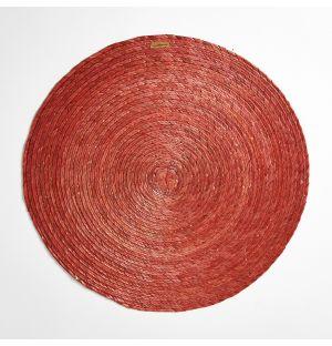 Set de table rond terracotta – 38 cm