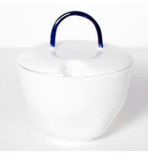 Sucrier Cobalt en porcelaine