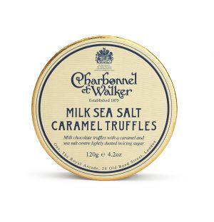 Truffes au chocolat au lait et caramel beurre salé