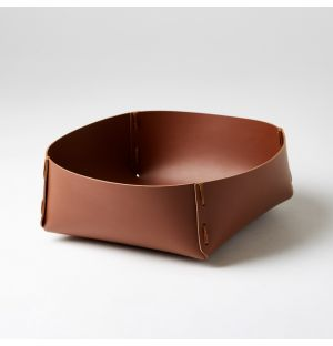 Panier carré marron – Extra Large