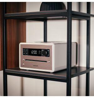 Radio-CD QUBO - blanc
