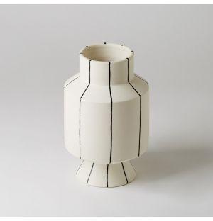 Vase à rayures noires Otto