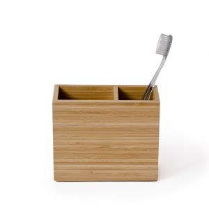 Boîte à brosses à dents Arena en bambou