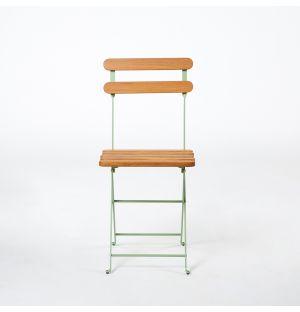 Chaise pliante verte Bistro 403