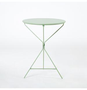 Table pliante verte Bistro 402