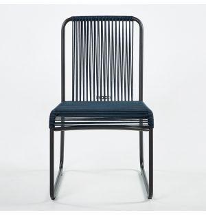 Chaise HARP 749 Fumée & Bleue