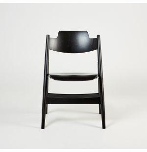 Chaise pliante SE18 noire
