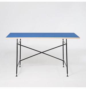 Bureau bleu et noir Eiermann 1 - 160cm