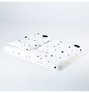 Ensemble de linge de lit blanc pour enfants