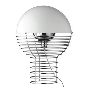 Lampe de Table Wire Blanche