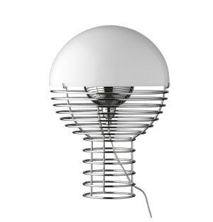 Lampe de Table Wire Blanche small