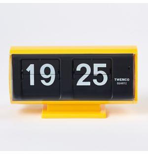 Horloge jaune à palettes QT-30