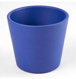 Cache-pot Pedregal cobalt 8,5 cm
