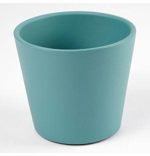 Cache-pot Pedregal turquoise 12 cm