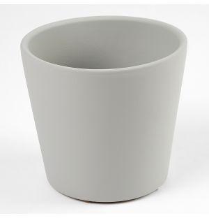 Cache-Pot Pedregal Gris Cendré 12 cm