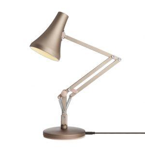 Lampe de bureau Type 90 Mini - rose argenté