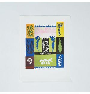 Poster «Tahiti» d'Henri Matisse