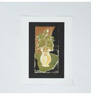 Poster «Feuilles, Couleur Lumière» de Georges Braque