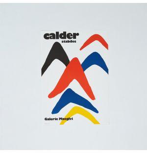 Poster «Stabiles» d'Alexander Calder