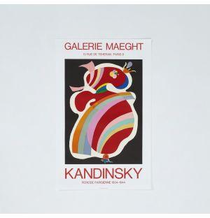 Poster «Forme Rouge» de Wassily Kandinsky