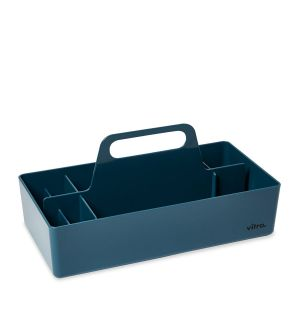 Boîte à outils bleue
