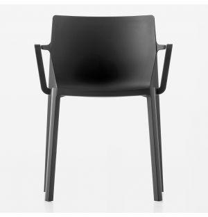 Chaise empilable noire LP