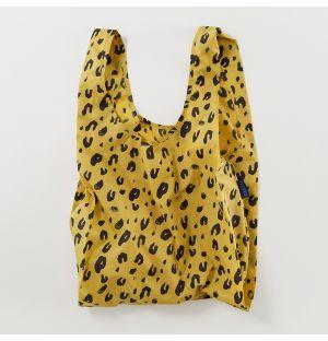 Cabas réutilisable léopard