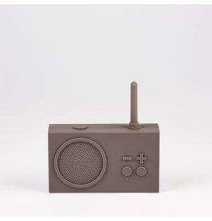 Enceinte Tyhko 3 FM Radio & 3W Bluetooth taupe