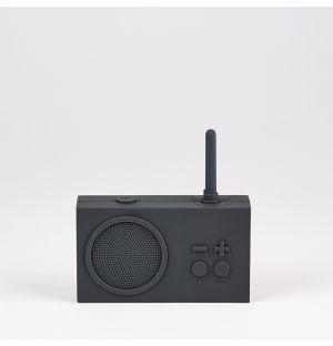 Enceinte Bluetooth gris foncé Tyhko 3